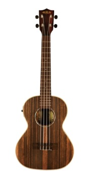 Kala KAEBYTE A/E Striped Ebony TENOR UKULELE