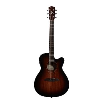 Alvarez AF66CESHB All Mhgny A/E FOLK GUITAR