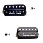 Seymour Duncan 11102-13-B SH4 JB Bridge HB -Black