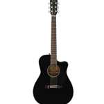 Fender CC60SCEBLK Solid Top A/E CONCERT Acoustic Guitar