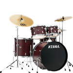 Tama IE52CBWW 5pc Imperialstar w/Cymbals & Throne