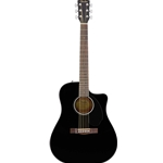 Fender CD60SCEBLK Solid Top A/E Guitar