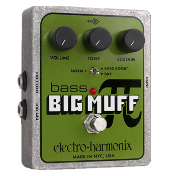 ElectroHarmonix BASSBIGMUFF Bass Distortion/Sustainer
