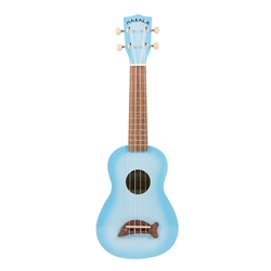 Kala MK-SD/LBLBRST Light Blue Burst Dolphin Uke
