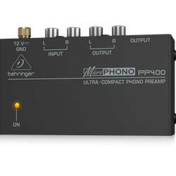 Behringer PP400 Ultra Phono Preamp
