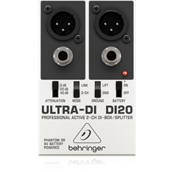Behringer DI20 Stereo Direct Box