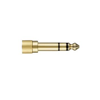 "Shure HPAQA1 Locking 1/4"" Adapter Gold Plated"