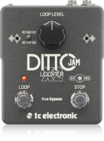 TC Electronic DITTOJAMX2 Ditto JAM X2 Looper Pedal