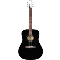 Fender CD-60BLK Dreadnought w/HSCase